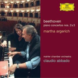PIANO CONCERTOS NO.2 & 3 MAHLER CHAMBER ORCHESTRA/CLAUDIO ABBADO/ARGERICH Audio CD, L. VAN BEETHOVEN, CD