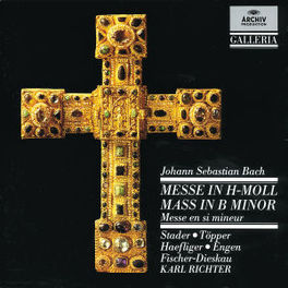 MASS IN B MINOR MUNCHENER BACH ORCH.&CHOR./RICHTER Audio CD, J.S. BACH, CD