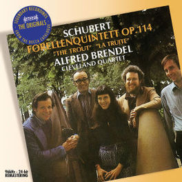 TROUT QUINTET CLEVELAND QUARTET/ALFRED BRENDEL Audio CD, F. SCHUBERT, CD