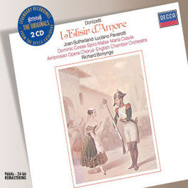 L'ELISIR D'AMORE SUTHERLAND/PAVAROTTI/E.C.O./BONYNGE Audio CD, G. DONIZETTI, CD