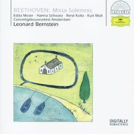 MASS IN C/MISSA SOLEMNIS CONCERTGEBOUW ORCHESTRA/BERNSTEIN Audio CD, L. VAN BEETHOVEN, CD