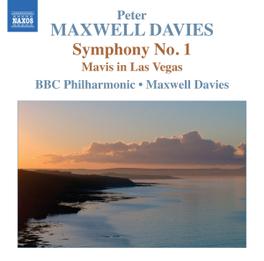 SYMPHONY NO.1 BBC PHILHARMONIC ORCHESTRA/MAXWELL DAVIES P. MAXWELL DAVIES, CD