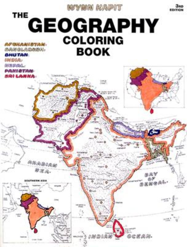The Geography Coloring Bok Coloring Book, Kapit, Wynn, Paperback
