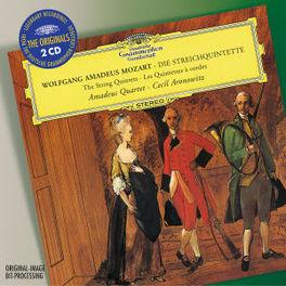 STRING QUINTETS AMADEUS QUARTET Audio CD, W.A. MOZART, CD