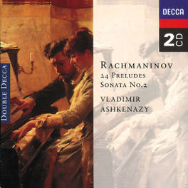 24 PRELUDES/SONATA NO.2 W/VLADIMIR ASHKENAZY-PIANO Audio CD, S. RACHMANINOV, CD