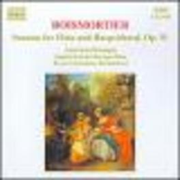 SONATAS FOR FLUTE/HARPSIC -BAROQUE FLUTE:STEPHEN SCHULTZ/HARPSICHORD:SCHENKMAN J.B. DE BOISMORTIER, CD