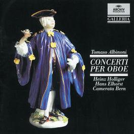 8 OBOE CONCERTS FROM OP.7 HOLLIGER/ELHORST/CAMERATA BERN Audio CD, T. ALBINONI, CD