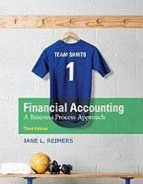 Financial Accounting:A Business Process Approach: United States       Edition Jane, Reimers, Hardcover
