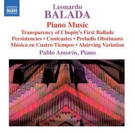 PIANO MUSIC PABLO AMOROS L. BALADA, CD