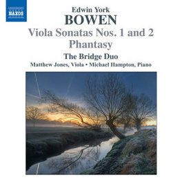 VIOLA SONATAS NO.1 & 2 THE BRIDGE DUO E.Y. BOWEN, CD