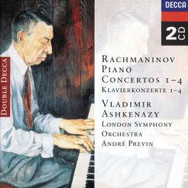 PIANO CONCERTOS 1-4 ASHKENAZY/LSO/PREVIN Audio CD, S. RACHMANINOV, CD