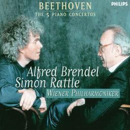 PIANO CONCERTOS BRENDEL/WIENER PHILHARMONIKER/RATTLE Audio CD, L. VAN BEETHOVEN, CD