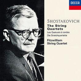 STRING QUARTETS *BOX* FITZWILLIAM STRING QUARTET Audio CD, D. SHOSTAKOVICH, CD