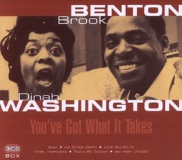 YOU'VE GOT WHAT IT TAKES Audio CD, BROOK/WASHINGTON BENTON, CD