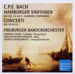 HAMBURGER SINFONIEN &.. FREIBURGER BAROCKORCHESTER C.P.E. BACH, Audio Visuele Media