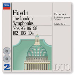 LONDON SYMPHONIES 1 KON.CONCERTGEB.ORCH./DAVIS Audio CD, J. HAYDN, CD