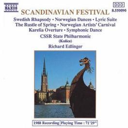 SCANDINAVIAN FESTIVAL:.. CSSR STATE P.O./RICHARD EDLINGER RICHARD EDLINGER, CD