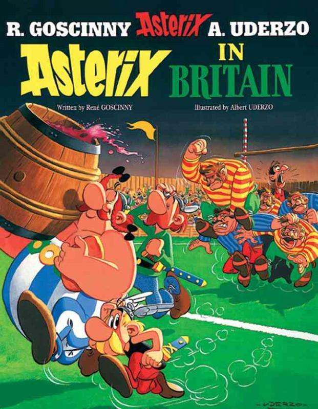 Asterix: Asterix in Britain Rene Goscinny, Hardcover
