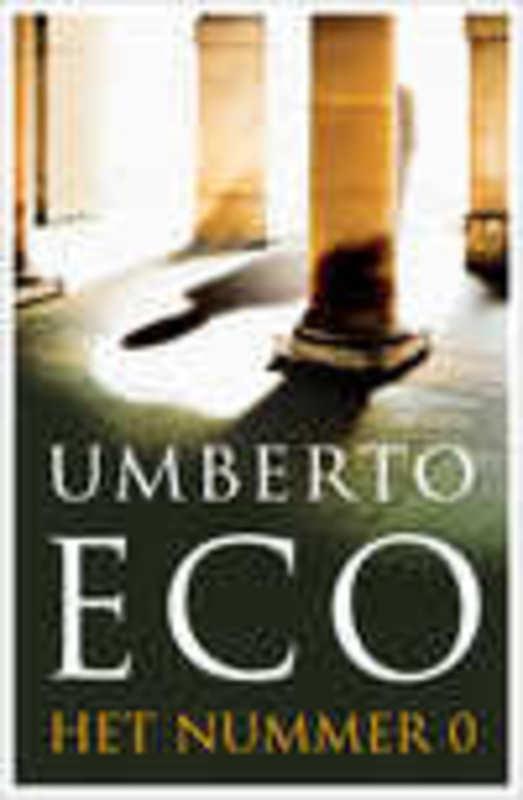 Het nulnummer Umberto Eco, Hardcover
