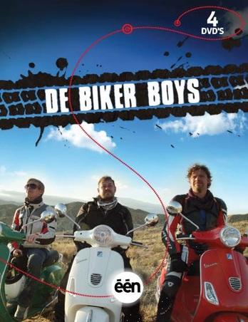 BIKER BOYS MET BART DE PAUW, BEN SEGERS EN JONAS VAN GEEL