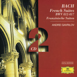 FRENCH SUITES 1-6 W/ANDREI GAVRILOV Audio CD, J.S. BACH, CD