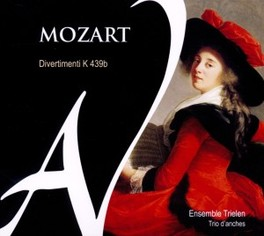 DIVERTIMENTI K.439B ENGLISH BAROQUE SOLOISTS W.A. MOZART, CD