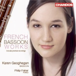 FRENCH BASSOON WORKS Audio CD, GEOGHEGAN/FISHER, CD