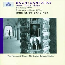 EASTER CANTATAS W/MONTEVERDI CHOIR, ENGLISH BAROQUE SOLOISTS, J.GARDINE Audio CD, J.S. BACH, CD