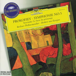 SYMPHONY NO.5/LE SACRE DU ...PRINTEMPS/W/BERLINER PHILHARMONIKER Audio CD, PROKOFIEV/STRAVINSKY, CD