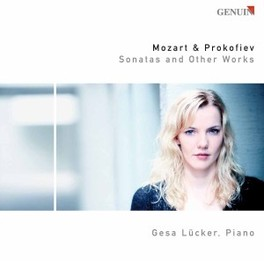 SONATAS AND OTHER WORKS LUCKER, GESA Audio CD, MOZART/PROKOFIEV, CD
