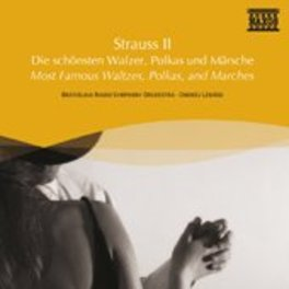 MOST FAMOUS BRATISLAVA RSO/LENARD STRAUSS, J. -JR-, CD
