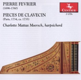 PIECES DE CLAVECIN P. FEVRIER, CD