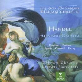 ACIS & GALATEA WILLIAM CHRISTIE G.F. HANDEL, CD