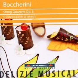 STRING QUARTETS OP.8 VOL. QUARTETTO D'ARCHI DI VENEZIA L.R. BOCCHERINI, CD