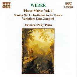 PIANO MUSIC VOL.1 -ALEXANDER PALEY C.M. VON WEBER, CD