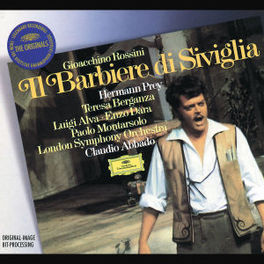 BARBER OF SEVILLE W/CLAUDIO ABBADO, HERMANN PREY, LONDON SYMPHONY ORCHEST Audio CD, G. ROSSINI, CD