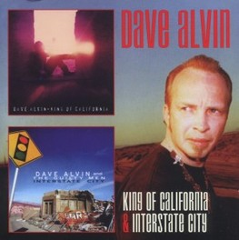 KING OF CALIFORNIA /.. .. INTERSTATE CITY, 1994 & 1995 ALBUMS DAVE ALVIN, CD