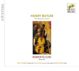 HENRY BUTLER, THE DIVISIO ROBERTO GINI H. BUTLER, CD