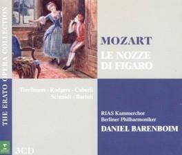 LE NOZZE DI FIGARO DANIEL BARENBOIM W.A. MOZART, CD