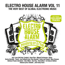 ELECTRO HOUSE ALARM 11 THE VERY BEST OF GLOABAL ELECTRONIC MUSIC V/A, CD