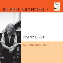 12 GRANDES ETUDES S137 IDIL BIRET F. LISZT, CD