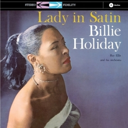 LADY IN SATIN -HQ- 180GR. BILLIE HOLIDAY, LP