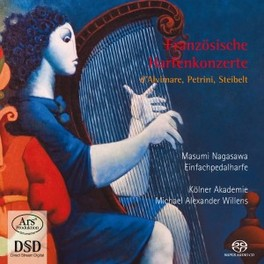 FRENCH CONCERTOS FOR HARP KOLNER AKADEMIE/MICHAEL ALEXANDER WILLENS MASUMI NAGASAWA, CD