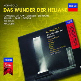 DAS WUNDER DER HELIANE JOHN MAUCERI E.W. KORNGOLD, CD