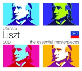 ULTIMATE LISZT PIANO CONCERTOS/HUNGARIAN RHAPSODIES/FAUST SYMPHONY V/A, CD