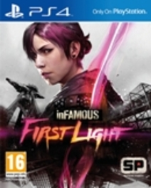 PS4 Game InFamous, First Light