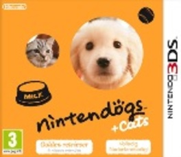 Game, 3DS, Nintendogs + Cats, Golden Retriever & New Friends