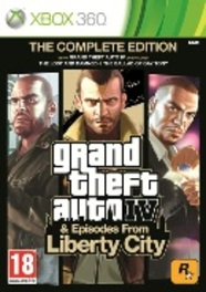 XBOX 360 Game Grand Theft Auto, Complete Edition