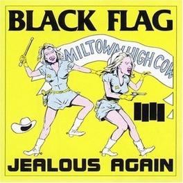 JEALOUS AGAIN *10'EP* BLACK FLAG, 12' Vinyl