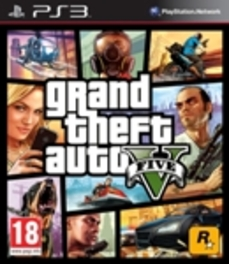 PS3 Game Grand Theft Auto 5